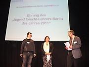 Jörn Kordus: Jugend forscht-Lehrer Berlin des Jahres 2011