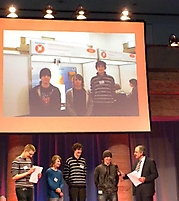 Jasper Mang, Carlos Izquierdo, Michel Neuhof: Mathematik/Informatik 2. Platz