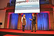Julia Wagner: Ehrung erfolgreicher Jugend forscht-Betreuer