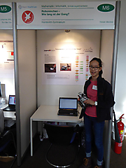Timnah Weckner: Mathematik/Informatik, 2. Preis Schüler experimentieren
