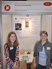 Josephine Müller, Lea Urban: Chemie, 1. Preis Jugend forscht