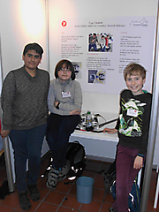 Aryan Siathiri, Mario de Cristofaro, Dominik Hildmann: Technik Schüler exp., Teilnehmerurkunde ;