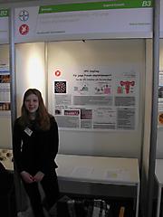 Helene Hasenbein: Biologie Jugend forscht, Teilnehmerurkunde + Jahresabo Bild d. Wissenschafte