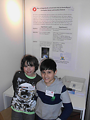 Jonathan Bialecki, Christopher Hector: Physik Schüler exp., Teilnehmerurkunde + Besuch Vakuumlabor DESY