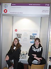 Helene Hamann, Hannah Maricevic: Technik Schüler exp. Teilnehmerurkunde