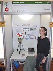 Timnah Weckner: Mathematik/Informatik Jugend forscht, 2. Preis und Ausstellung des Projekts auf der Langen Nacht der Wissenschaften