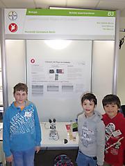 Kim Blume, Kai und Jona Rakoczy: Biologie Schüler experimentieren, 3. Preis und Sonderpreis Tierparkbesuch