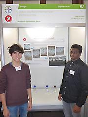 Jan-Moritz von Berg, Marcel Lupini: Biologie Jugend forscht, Teilnehmerurkunde