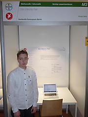 Florian Gerts: Mathematik/Informatik Schüler experimentieren, 2. Preis