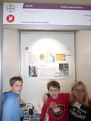 Kjell Maushake, Felix Ortiz, Philipp Plagge: Technik Schüler exp., Sonderpreis Experimente für zu Hause