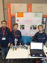 Tobias Lawall, Conrad und Henrik Mannheimer: Technik; Sonderpreis Projekttag DESY
