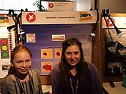 Lisa Krüger, Theresa Hradilak: Geo- und Raumwissenschaften 2. Platz Schüler experimentieren