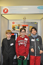 Matthis Bauch, Tolga Kaskin, Marcel Wolters: Mathematik/Informatik 2. Platz
