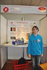 Corvin Fischer-Rivera: Mathematik/Informatik 2. Platz